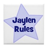 Jaylen Rules Tile Coaster