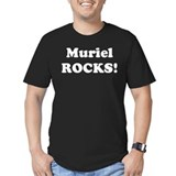 Muriel Rocks! Black T-Shirt
