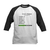 Level 1 Human [Personalize] Baseball Jersey