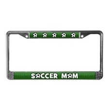 Soccer Mom License Plate Frame