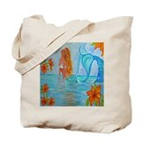 The Wisdom Seeker Mermaid by Alecia Tote Bag