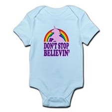 Dont Stop Believin in Unicorns (Distressed) Body S