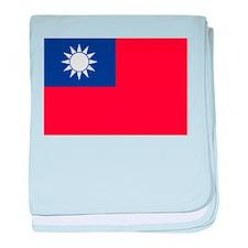 Taiwan1 baby blanket