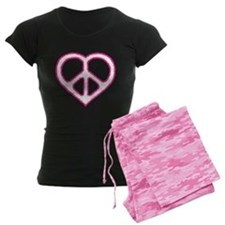 Peace Heart Pajamas
