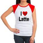 I Love Latte Women's Cap Sleeve T-Shirt
