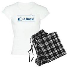 Like a Boss! Funny, Cool In-design Pajamas