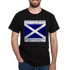 Scottish Blood Whisky St Andrew T-Shirt