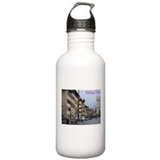 Old town scape (Beautiful Florence) Water Bottle