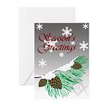 Masonic Tree Greeting Cards (Pk of 10)