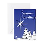 Masonic Star Holiday Greeting Cards (Pk of 10)