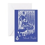 Masonic Nativity Greeting Cards (Pk of 10)