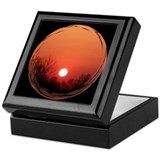 Sunrise Black Keepsake Box