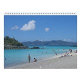 2013 Scenes FromThe Virgin Islands Wall Calendar