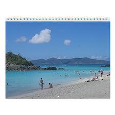 2015 Scenes Fromthe Virgin Islands Wall Calendar
