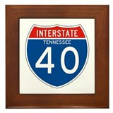 Interstate 40 - TN Framed Tile