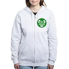100% Jugglable (Green) Zip Hoodie