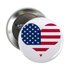"American Heart 2.25"" Button (10 pack)"