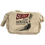 Media consolidation Messenger Bag