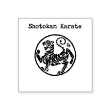 Shotokan Tiger Sticker