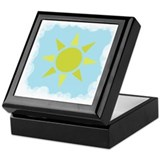 Sun and Sky Keepsake Box