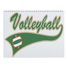 Volleyball Wall Calendar