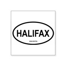 Halifax Oval Sticker