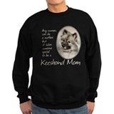 Keeshond Mom Sweatshirt