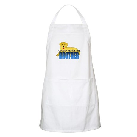 Golden Retriever Brother Apron