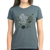 Gandhi -World Vine - Be Change T-Shirt
