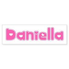 """Daniella"" Bumper Bumper Sticker"