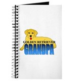Golden Retriever Grandpa Journal