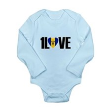 1LOVE BARBADOS Body Suit