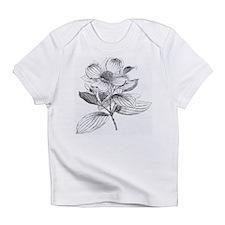 Dogwood flower vintage artwork Infant T-Shirt