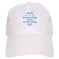 Hebrews 11 1 Scripture Baseball Cap