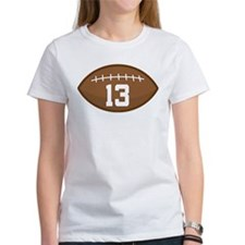 Football Player Number 13 Tee