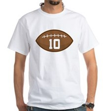 Football Player Number 10 Shirt