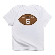 Football Player Number 6 Infant T-Shirt