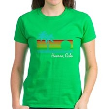 Havana Vintage Distressed Design T-Shirt