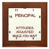 Funny School Framed Tile