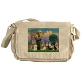 StFrancis-10 dogs Messenger Bag