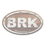 Breck Peeled Wood Decal