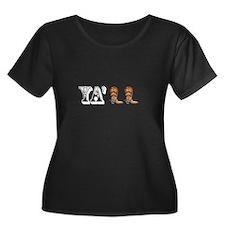 Yall Boots Plus Size T-Shirt