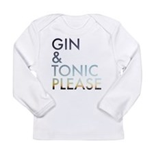 gin and tonic please Long Sleeve T-Shirt