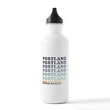 portland, oregon Water Bottle