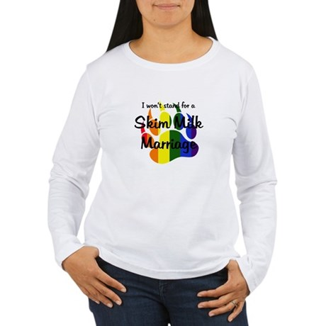 Stand - Skim Milk Marriage Long Sleeve T-Shirt