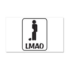 LMAO Car Magnet 20 x 12