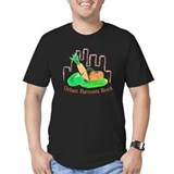 Urban Farmers Rock Black T-Shirt
