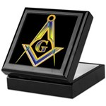 The Glow of the Freemasons Keepsake Box
