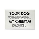 Cheetoh Cat designs Rectangle Magnet