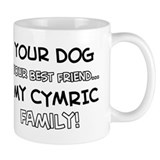 Cymric Cat designs Small Mug
